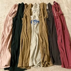 Lot of 7 Old Navy Tanks